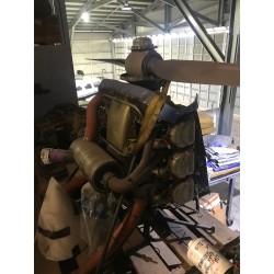O470 Engine + Prop